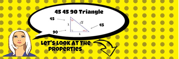 Identifying 45 45 90 triangles – Special Right Triangles 45 45 90 Worksheet