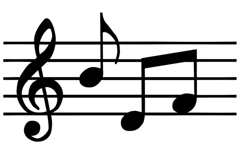 musical notes/ create a song