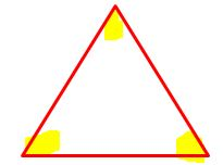 equilateral triangle congruent angles/what is an equilateral triangle?