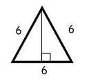height equilateral triangle with sides of 6 units | http://www.moomoomath.com/How-to-find-the-height-of-an-equilateral-triangle.html
