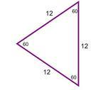equilateral triangle/2d shape