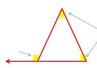 triangle with the rmote interior angles highlighted