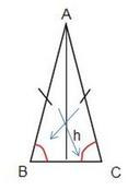 triangle with congruent angles