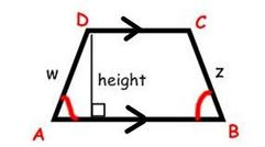 picture of trapezoid