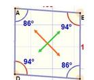 rhombus opposite angles equal