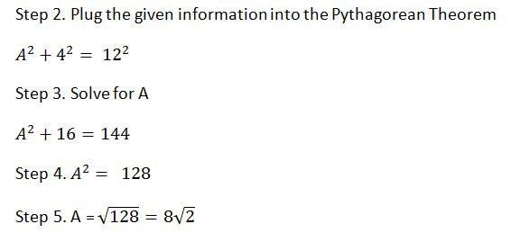 Pythagorean Theorem word problems