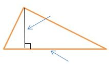 Which point represents the vertex of the marked angle?