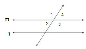 vertical angles parallel lines