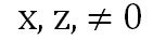 x,z ≠ o power of a quotient property